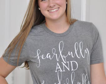 Fearfully And Wonderfully Made Women's Slim Fit T-Shirt