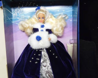 Mattel 1993 Winter Princess Limited Edition Barbie Doll Winter Princess Collection