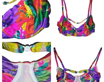 "Top swimsuit - ""Rainbow"" - T36/T38"