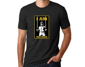 I Am The Force, Funny Chuck Norris Tee, S-4XL, LJ #115