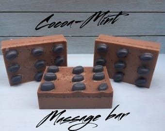 Cocoa Mint Massage Bar