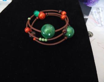Wrist or ankle bracelet in magic pearls