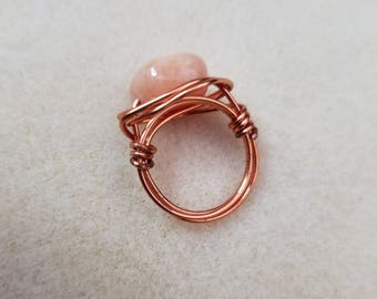 Copper Wire Wrapped Ring