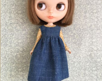 Blythe dress and blouse set