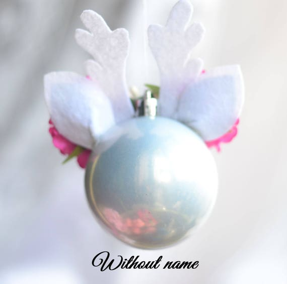 unicorn сhristmas ornament fairytale gift baby unicorn ornament сhristmas ball round unicorn ornament Christmas gift baby's first christmas