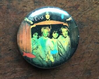 The Cure Vintage Original Button 1980's