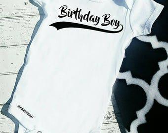 First Birthday Shirt, Birthday Boy, First Birthday Outfit, Black, White, One, Birthday Shirt, Boy Birthday shirt