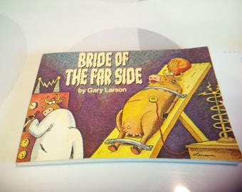 Vintage 1987 Bride Of The Far Side Book by Gary Larson, Collection #4, Seventh Printing