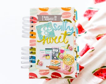 """Recipes Book """"Salty and Sweet"""""""