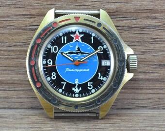 soviet USSR russian watch WOSTOK VOSTOK Commander original