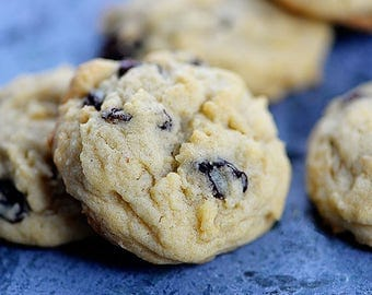 Luscious Oatmeal Raisin Melt in your Mouth Cookies - 2 Dozen