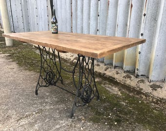 up-cycled kitchen / dinning table