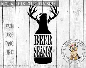 The Original Beer Deer Season -svg, dxf, png, jpg - Hunting, Cricut, Cameo, Cutable