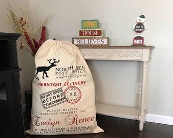 Personalized Santa/Gift Sack - Extra Large