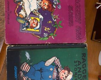 Raggedy Ann & Andy Books