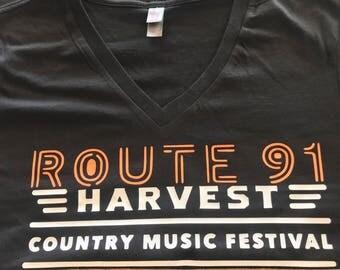 Route 91 Women's V-nevk Shirt