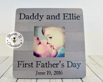 ON SALE Father's Day Gift for Dad, Fathers Day Gift, Daddy Gift, Best Daddy, Birthday Gift for Dad, New Dad Gift, Picture Frame for Daddy