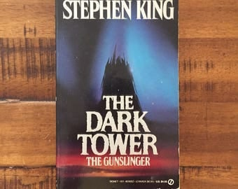 First Edition 1989 The Dark Tower: The Gunslinger by Stephen King Signet Paperback Book
