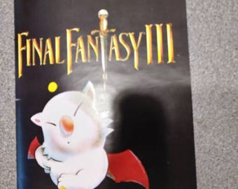 Final Fantasy III manual