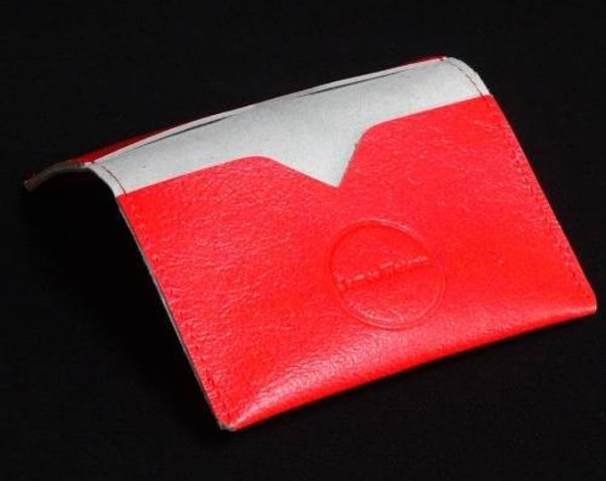 Bantam Wallet - Watermelon - Kangaroo leather with RFID blocking - James Watson