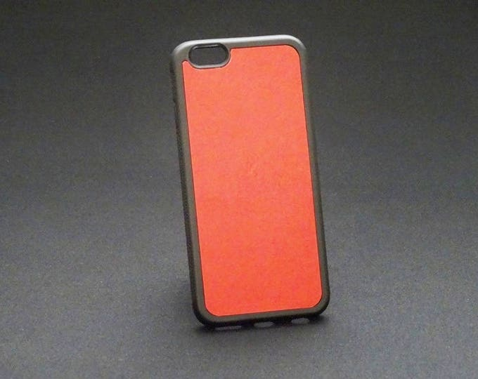 Apple iPhone 6 6S - Jimmy Case in Candy Red - Kangaroo leather - Handmade - James Watson