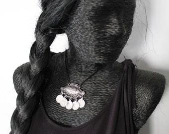 Ethnic necklace 17