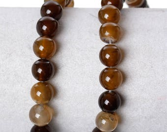 5 8mm natural agate beads