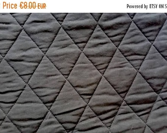 Quilted Black squared panneal 50CX50CM