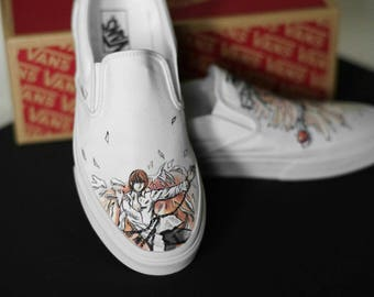 Custom Hand-Painted Death Note Vans Shoes
