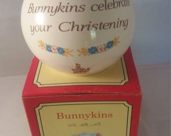 Bunnykins Christening Moneyball