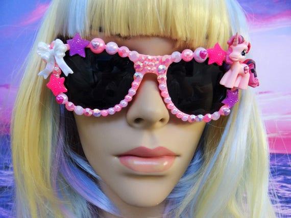 UNICORN My Little Pony * Lucky Swirl * Sunglasses Sun Glasses Sunnies Wayfarers Aviators Mirrored Mirror Mermaid Kawaii Disney A010