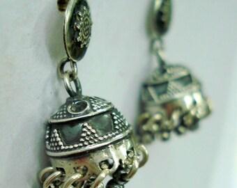 Traditional Design Sterling Silver Earrings Stud Earrings Jumki Earrings