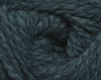 Cascade SALAR Alpaca Acrylic Super Bulky Yarn 15.99+1.99ea to Ship - Deep Teal 1 - 197yds +6 FREE Quick 1-Skein or Less Patterns! MSRP 21.00