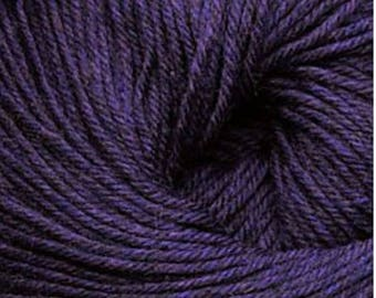 Cascade 220 Superwash 1927 Thistle 8.50 +1.50ea to Ship 220yd 100g Dark Purple Yarn Worsted + FREE Patterns Shown. MSRP 11.00