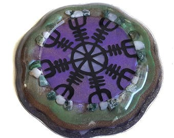 EMF Protection Orgone ~ Water Charging Coaster