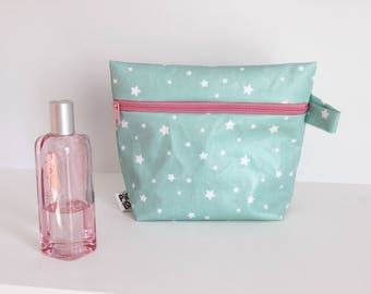 Toilet bag PM blue with stars
