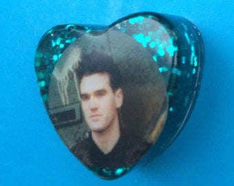 Glitter Morrissey Brooch