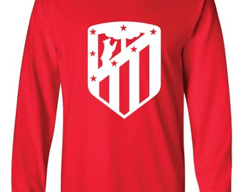 Athletico Madrid Long-Sleeved Shirt