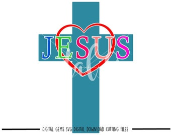 Easter, Jesus svg / dxf / eps / png files. Digital download. Compatible with Cricut and Silhouette machines. Small commercial use ok.