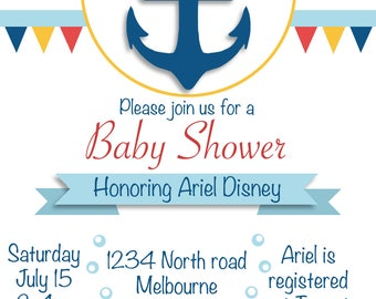 Baby Shower Invitation- Digital