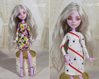 3 COLORS! Clothes/Outfit/Dress + Shoes for Monster High dolls