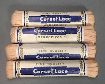 Vintage corset laces ; replacement