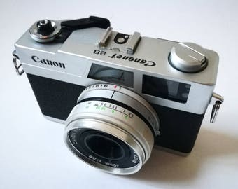 Canon Canonet 28 With New Light Seals. Vintage Ready-To-Use 1970s Rangefinder Camera