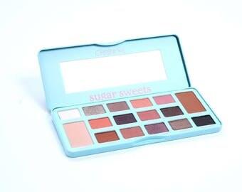 Sugar Sweets Eyeshadow Palette-Eyeshadow Makeup