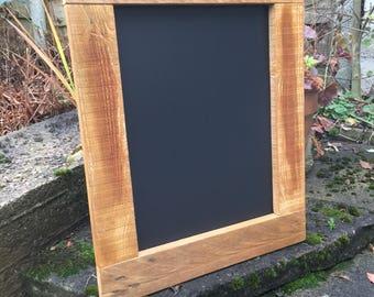 Lovely Rustic Wooden Chalkboard - Wedding/Pub/Home Memo.