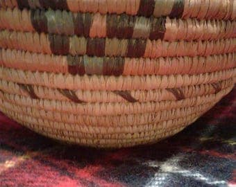 Indian coil weaved basket