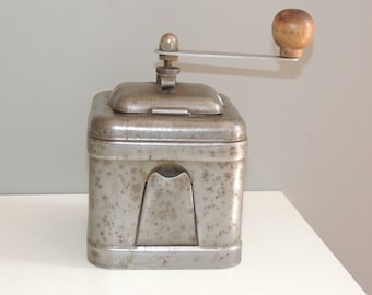 Original coffee grinder vintage all iron metal