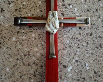 One of a Kind Unique Rustic Cross