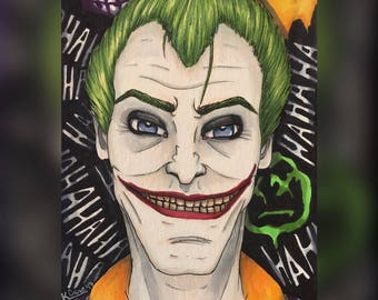 Joker Original Artwork