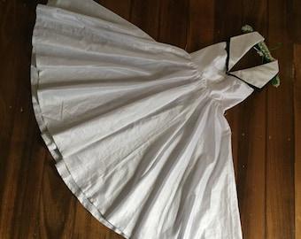 Vintage pinup Rockabilly swing dress